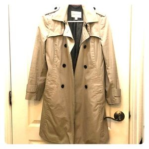 Banana republic beige trench coat SM